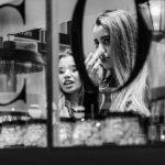 Photo: Edwin Muller Street photography, girl having a taste sample