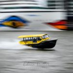 Photo: Edwin MullerA watertaxi in Rotterdam in action